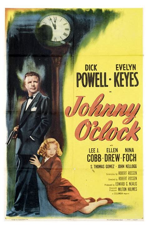 Laura's Miscellaneous Musings: Tonight's Movie: Johnny O ...