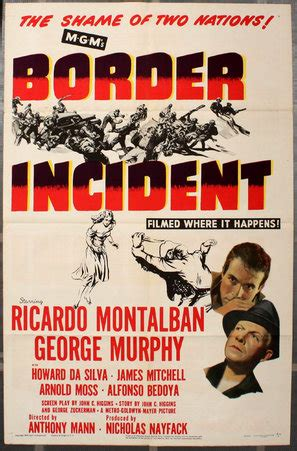Border Incident (1949) movie posters
