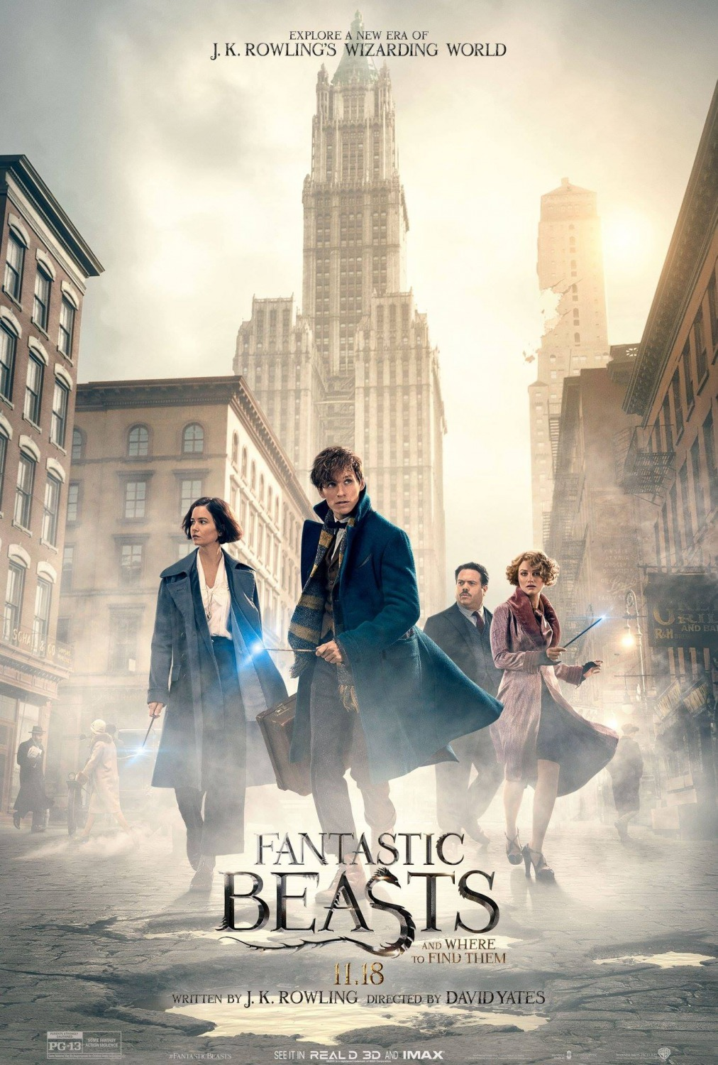 Fantastic Beasts and Where to Find Them [2016]