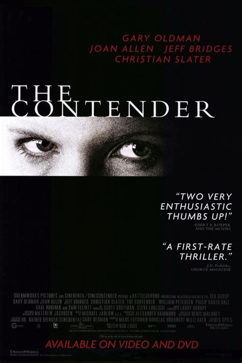 The Contender Movie Posters From Movie Poster Shop