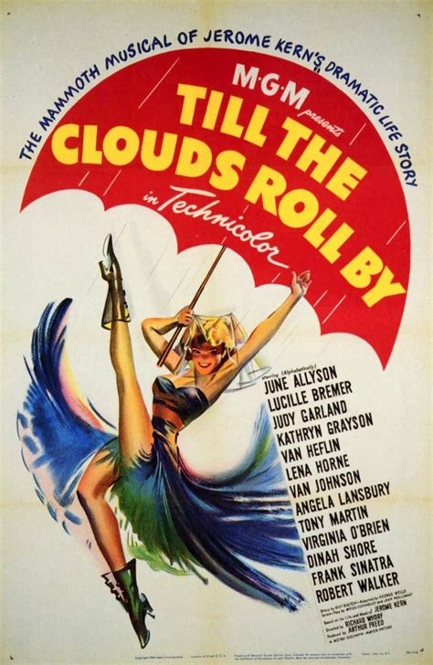 Till the Clouds Roll By Movie Posters From Movie Poster Shop