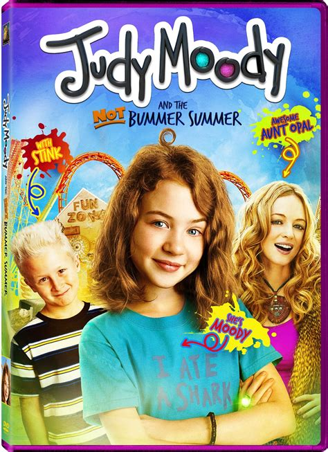 Judy Moody and the Not Bummer Summer DVD Release Date ...