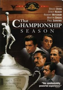 That Championship Season (1982 film) - Wikipedia