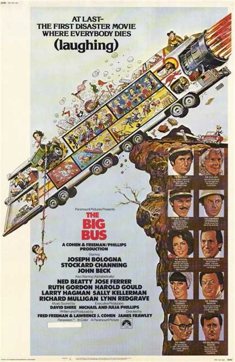 The Big Bus Movie Posters From Movie Poster Shop