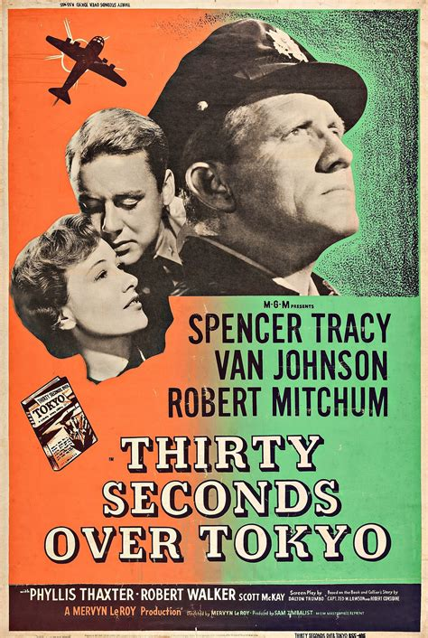Thirty Seconds Over Tokyo (1944) - Posters — The Movie ...