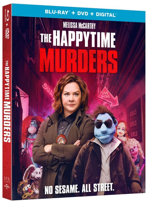'The Happytime Murders' Blu-ray, DVD and Digital Release ...