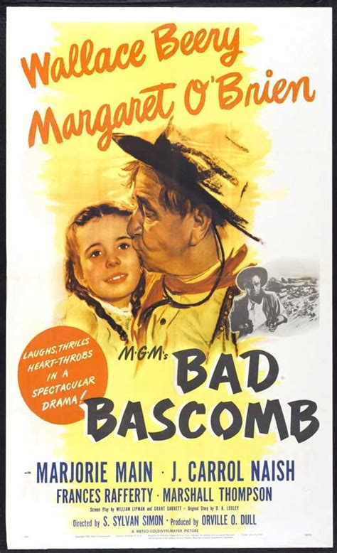 Bad Bascomb Movie Posters From Movie Poster Shop