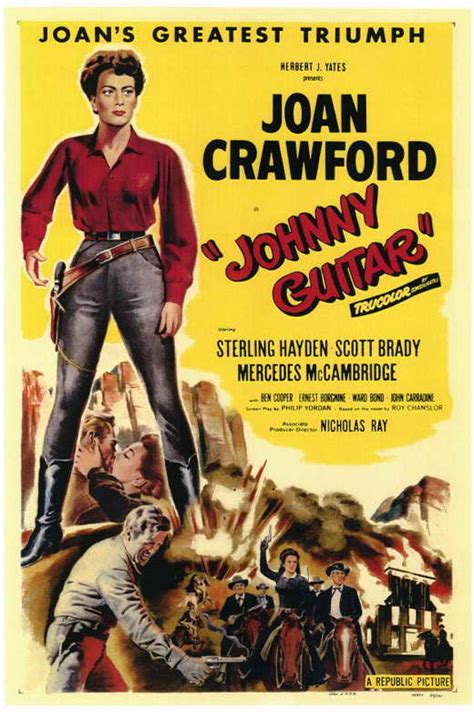 Johnny Guitar Movie Posters From Movie Poster Shop