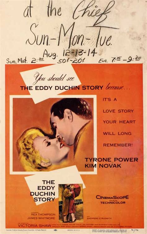 The Eddy Duchin Story Movie Posters From Movie Poster Shop