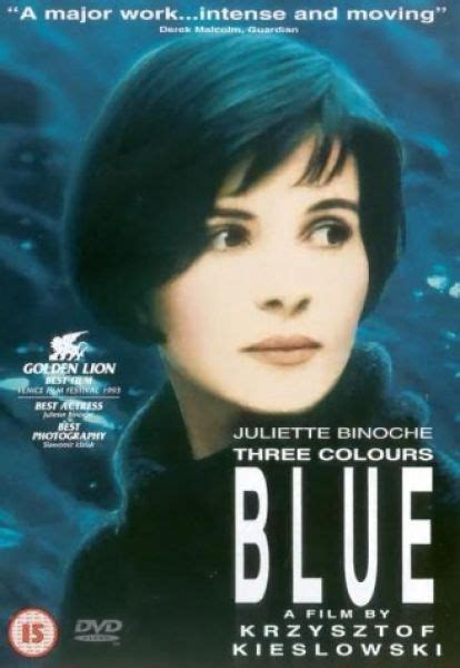 Three Colours Blue DVD | Zavvi
