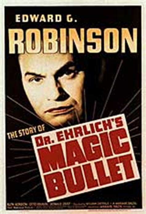 Dr. Ehrlich's Magic Bullet movie posters at movie poster ...