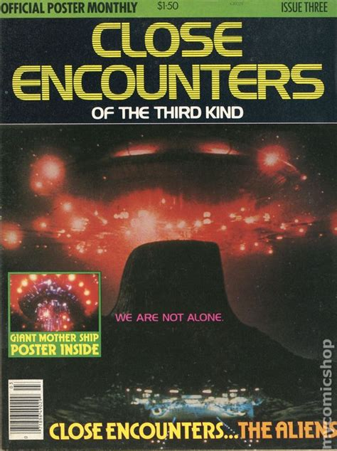 Close Encounters of the Third Kind Official Poster (1977 ...