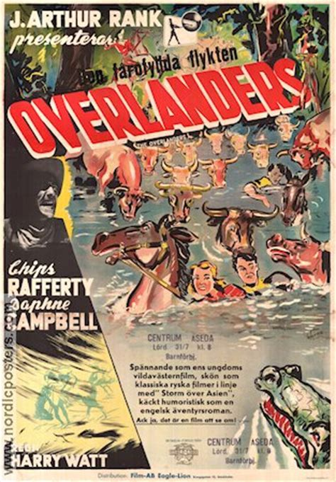 Movie posters Chips Rafferty - The Overlanders 1946 original