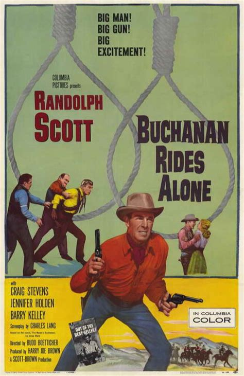 Buchanan Rides Alone Movie Posters From Movie Poster Shop