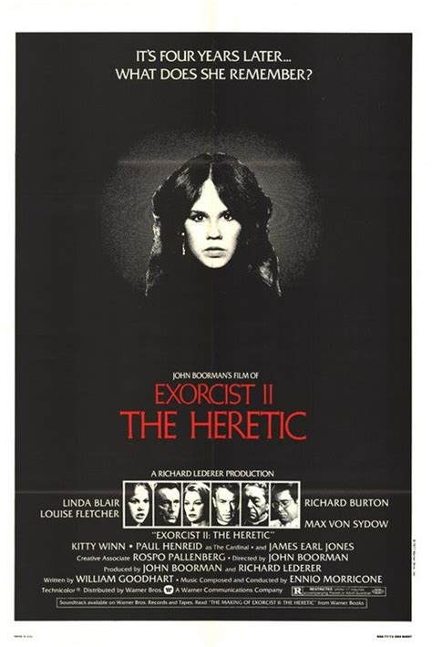 EXORCIST 2: THE HERETIC (1977) [GUILTY PLEASURES] | Horror ...