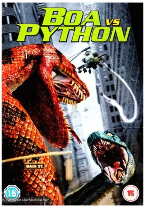 Boa vs. Python British movie cover