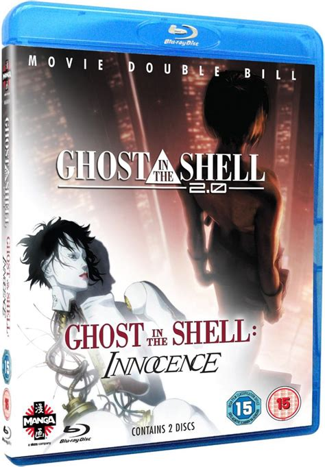 Ghost In The Shell 2.0/Ghost In The Shell - Innocence Blu ...