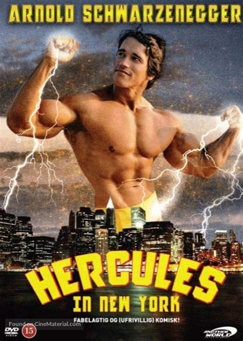 Hercules In New York Danish movie cover
