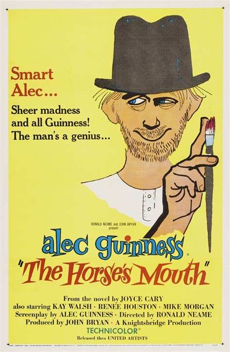 The Horse's Mouth Movie Posters From Movie Poster Shop