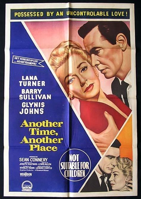 ANOTHER TIME ANOTHER PLACE Movie poster 1958 Lana Turner ...