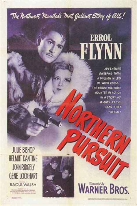 Northern Pursuit Movie Posters From Movie Poster Shop