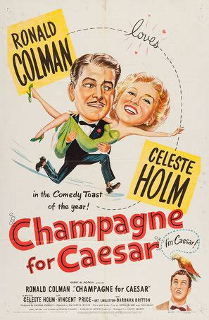 Champagne for Caesar (1950) movie posters