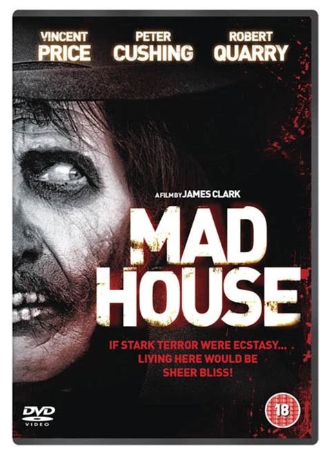 Film Review: Madhouse - The Vincent Price & Peter Cushing ...