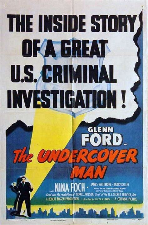 Undercover Man Movie Poster - IMP Awards