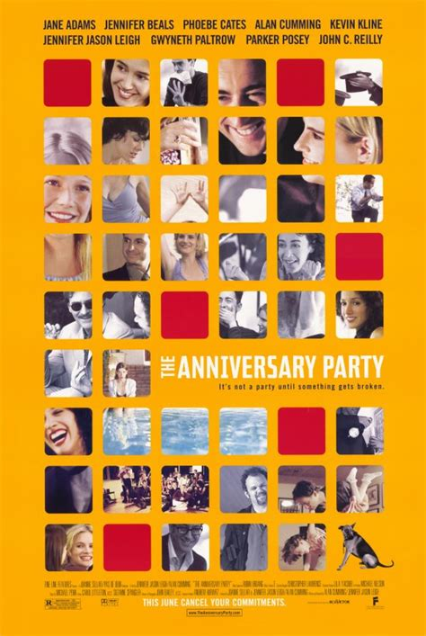 The Anniversary Party Movie Posters From Movie Poster Shop