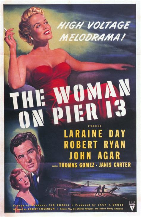 The Woman on Pier 13 Movie Posters From Movie Poster Shop