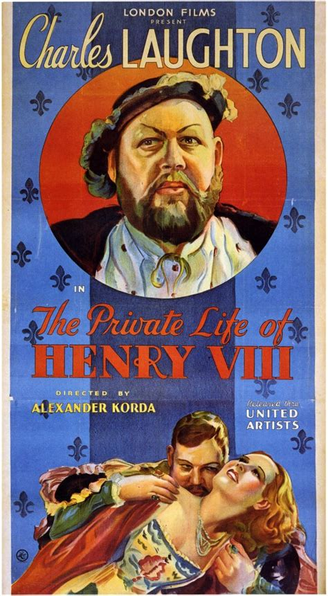 The Private Life of Henry VIII Movie Posters From Movie ...