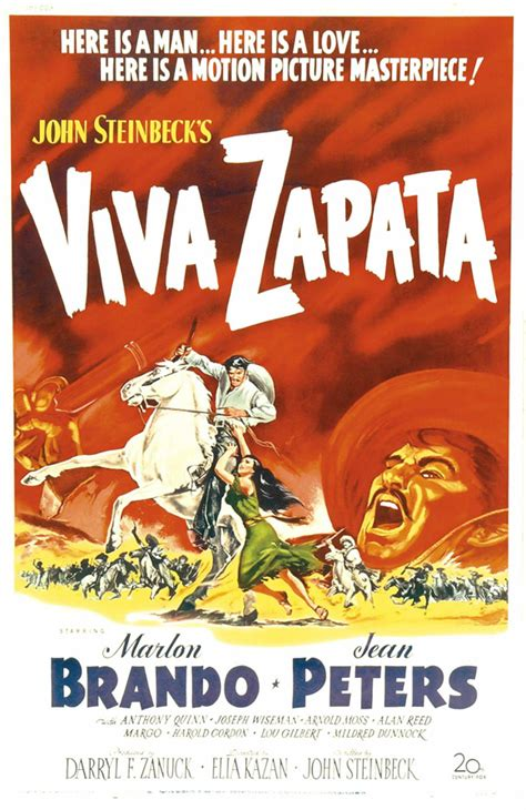 Viva Zapata! Movie Posters From Movie Poster Shop