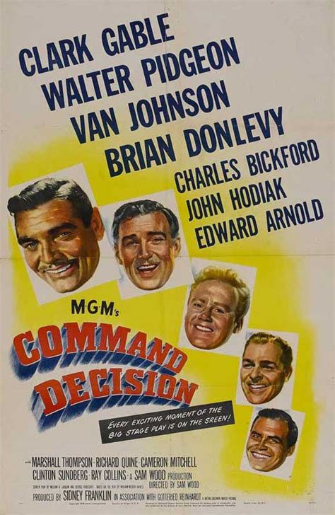 Command Decision Movie Posters From Movie Poster Shop