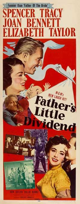 Father's Little Dividend Movie Posters From Movie Poster Shop