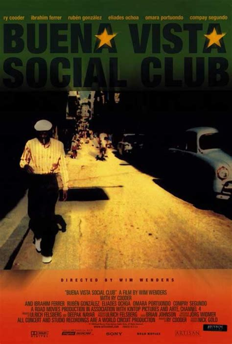 Buena Vista Social Club Movie Posters From Movie Poster Shop