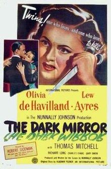 The Dark Mirror (film) - Wikipedia