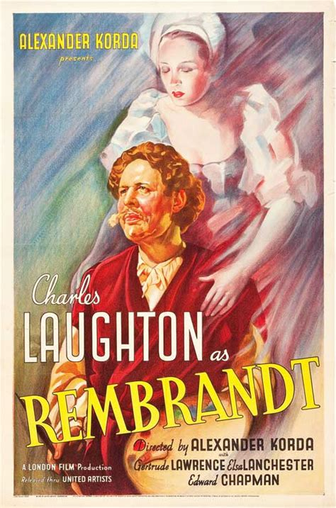 Best Movie Classics Ever Made: Rembrandt 1936 - A portrait ...