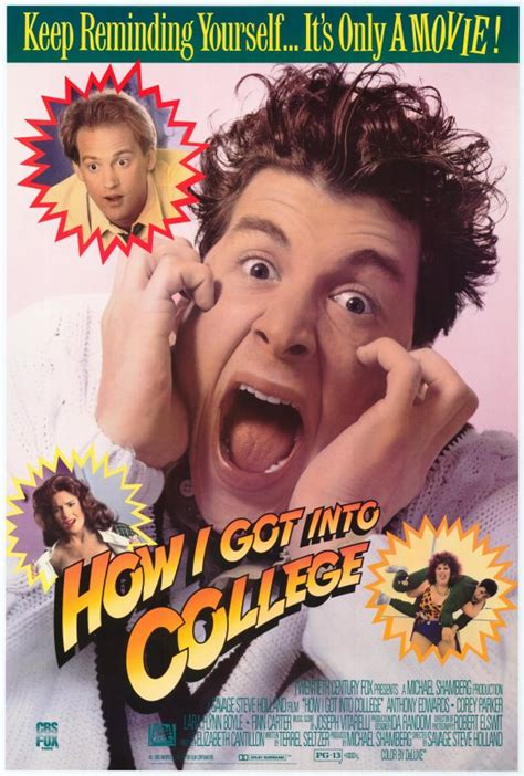 How I Got into College Movie Posters From Movie Poster Shop