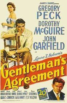 Gentleman's Agreement - Wikipedia