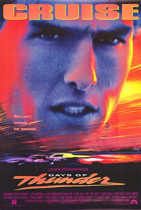 Days Of Thunder movie posters at movie poster warehouse ...