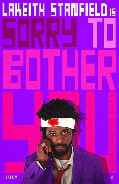 Sorry to Bother You Red-Band Trailer Puts on Its White ...