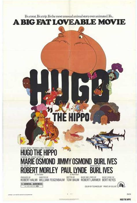 Hugo the Hippo Movie Posters From Movie Poster Shop