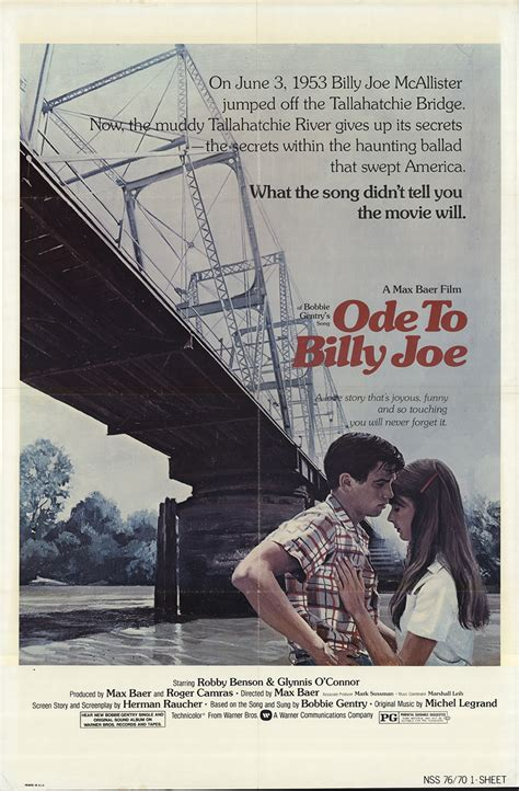 Ode To Billy Joe 1976 Original Movie Poster #FFF-17497 ...