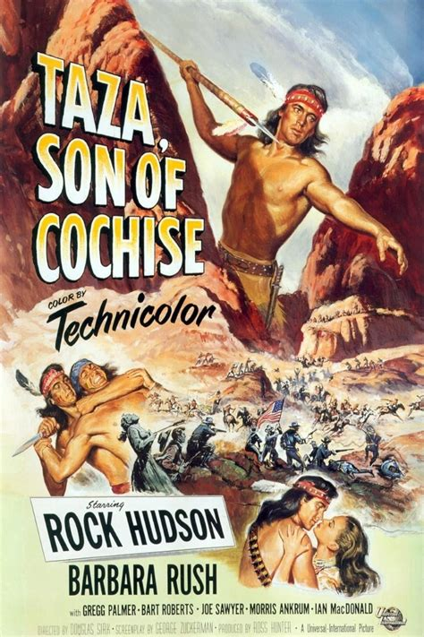 Taza, Son of Cochise (1954) - Posters — The Movie Database ...