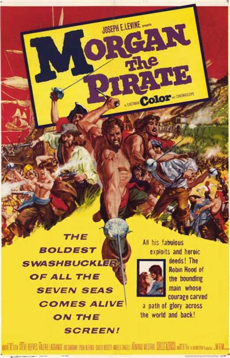 Morgan the Pirate Movie Posters From Movie Poster Shop