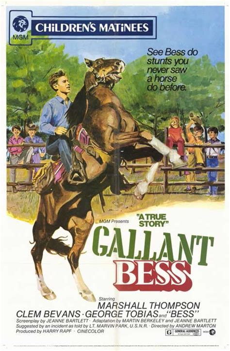 Gallant Bess Movie Posters From Movie Poster Shop