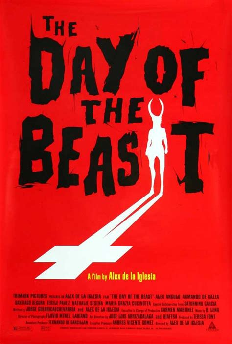 The Day of the Beast Movie Posters From Movie Poster Shop