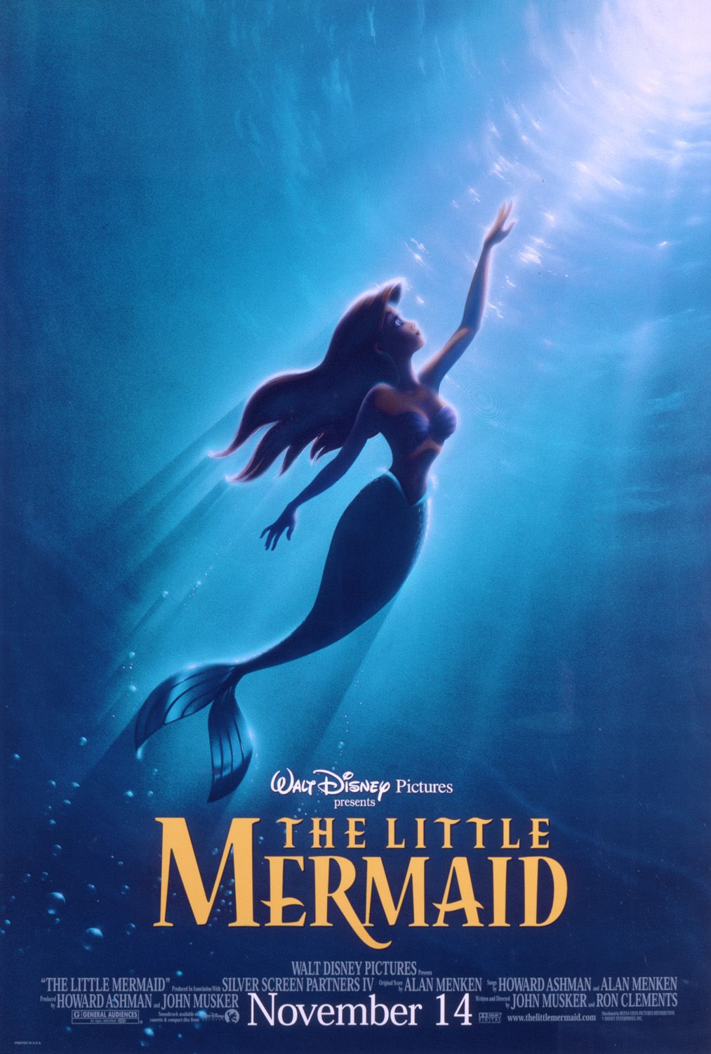 The Little Mermaid [1989]