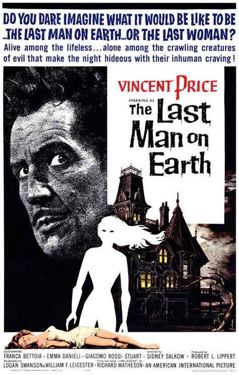 The Last Man on Earth Movie Posters From Movie Poster Shop