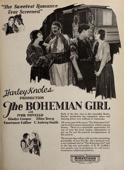 The Bohemian Girl (1922 film) - Wikipedia